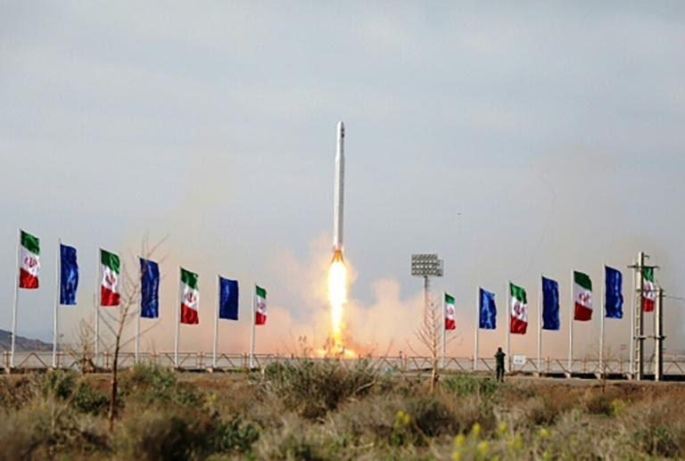 Iran launches military satellite into orbit