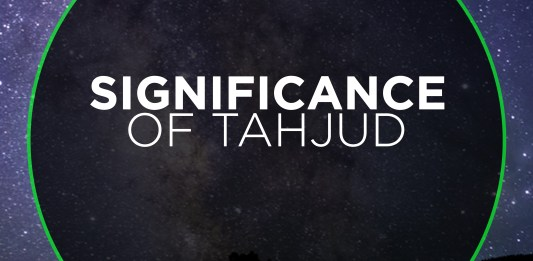 SIGNIFICANCE OF TAHJUD
