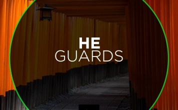 HE GUARDS THE RIGHTEOUS