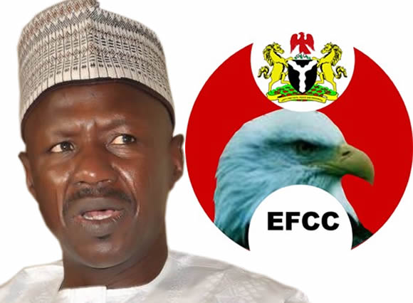 Acting Chairman of EFCC-Mr. Ibrahim Magu