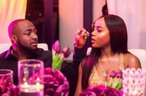 'I lucky say i jam you' – DMW Boss, Davido Gushes Over Chioma (Photos)