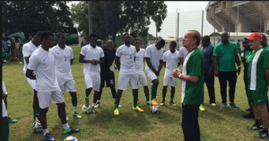 Super Eagles Coach, Rohr Warns Girls Not to Visit Super Eagles' Camp in Russia