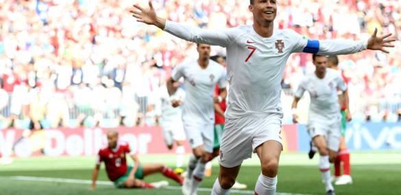 World Cup 2018: Cristiano Ronaldo Nets As Portugal Beat Morocco
