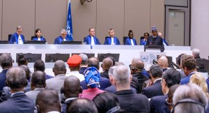 President Buhari Assures ICC Of Free And Fair Elections In 2019