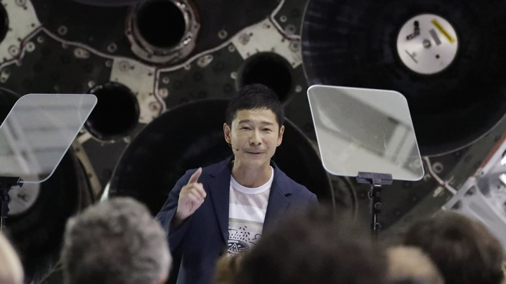 Yusaku Maezawa, SpaceX's First Private Moon Flight Passenger