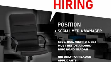 Apply For Latest Job Vacancy In Ibadan