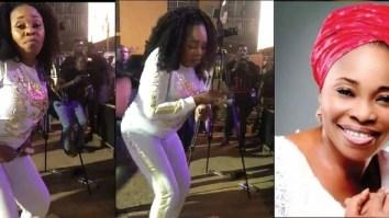 Tope Alabi dance video