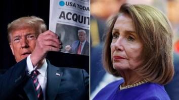 Trump and Nancy Pelosi