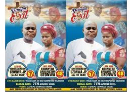 Couple Shot Dead, Abia Couple Shot Dead