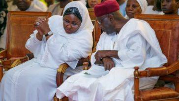 Aisha Buhari mourns late Abba Kyari