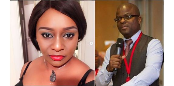 Victoria Inyama and Godwin Okri