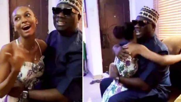 Nigerians React as Mompha Pays Adeherself a Visit After Her ...