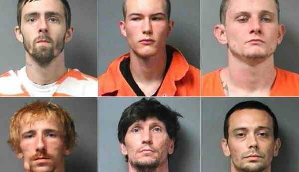 12 Inmates 12 inmates Escapes From Walker County Jail in Jasper