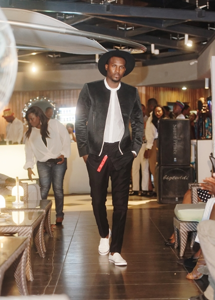 McMeka on the runway at LoudNProudLive Luxury Edition