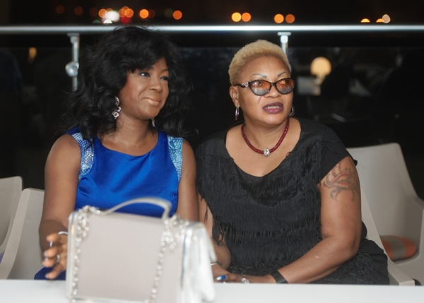 beautiful celebrity guests Susan Peters and her friend at LoudNProudLive Luxury Edition