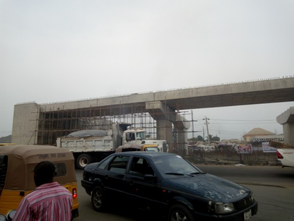 Osisioma Interchange Flyover in Aba