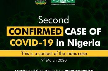 Nigeria Records Second Confirmed Case of Coronavirus