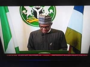 President Muhammadu Buhari addressing the nation on COVID-19 Pandemic