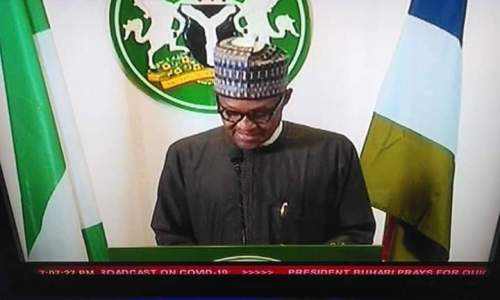 President Muhammadu Buhari Address to Nigerians on COVID-19 (Full Transcript)