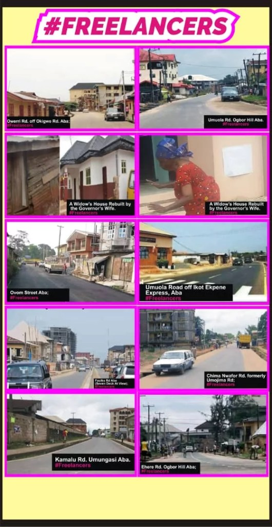Roads constructed in Aba 3
