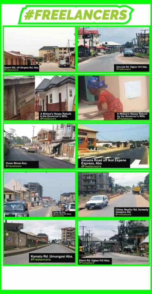 Roads constructed in Aba 4