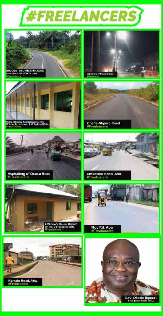 Roads constructed in Aba