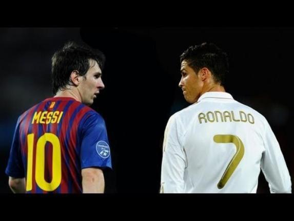 Lionel Messi & Christiano Ronaldo