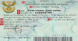 Visa Requirements for South Africa