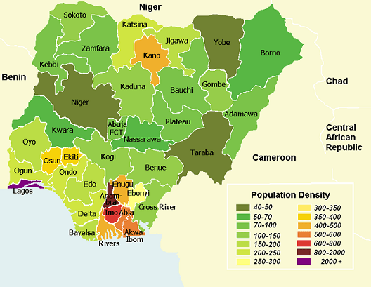 how old is nigeria