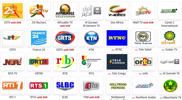frequencies of free to air channels in nigeria
