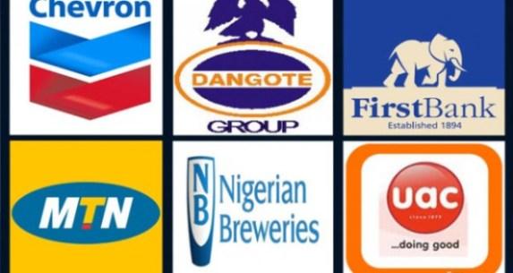 Top 50 Companies in Nigeria