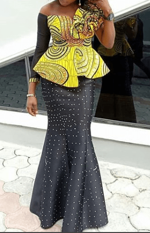036149ba2b99ff 25 Ankara Skirt and Blouse Styles (2019)