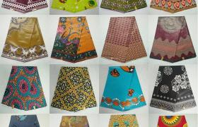 Ankara Wrap Dresses