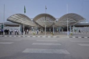 Nnamdi Azikiwe Airport Front view