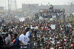 The 2012 Occupy Nigeria over fuel subsidy removal