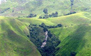 Topography of Gashaka Gumti National Park