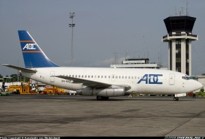 ADC Boeing 737-200 with registration 5N-BEE with picture from airliner.net