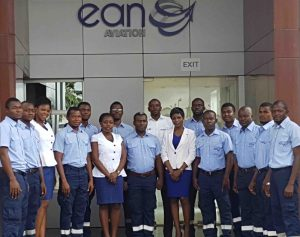 EAN Aviation's operations team proud to be the first African Safety 1st Qualified location on NATA's global FBO map.