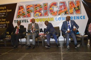 Yomi Jones, Fmr.MD Nigerian Airways, Richard Aisuebeogun, Fmr. MD FAAN, Capt. Mike Omokore CEO Broadlinks Aviation, Mr. Chike Ogeah, SAHCOL Vice Chairman