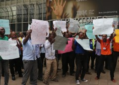 MMA2 shutdown: concessionaires, customers, employees stage counter protest against unions