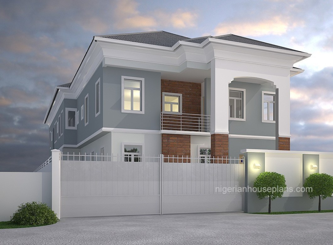 4 Bedroom Floor Plan Nairaland