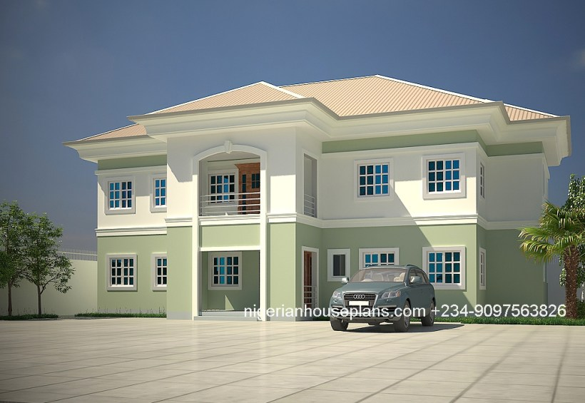 4 bedroom duplex building plans in nigeria www for 4 bedroom house designs in nigeria