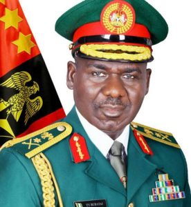 TY Buratai 1 276x300 - Insurgency: Buratai commends NGO for providing support for families of fallen soldiers