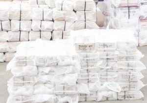 Lagos: NDLEA intercepts a 40-ft Container of Tramadol