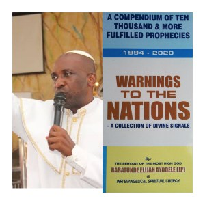 '#Covid-19 Is Set To #Kill More #Personalities, We Need To Pray' – #Primate #Ayodele
