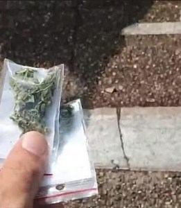 Group seeking to legalize Drugs rained free Marijuana from the Skies of Israeli City