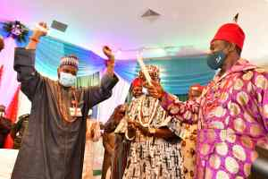 #Inuwa Yahaya Receives #Igbo #Community in #Gombe on Solidarity Visit