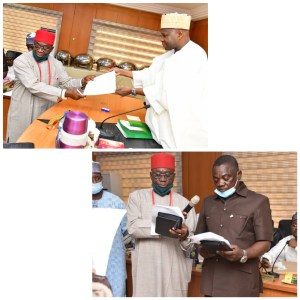 #GombeState Governor swears-in Igbo man, one other as Special #Advisers