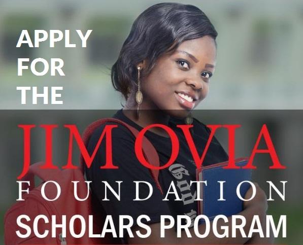 Jim Ovia Foundation Scholarship for Nigerian Undergraduate Students
