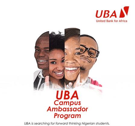 2017 UBA Group Campus Ambassador Program for Nigerian Students